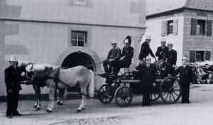 Schlauch- und Rohrspritze von 1870