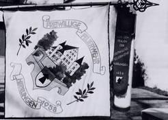 Fahne von 1958 - Es ist die heute verwendete Fahne.